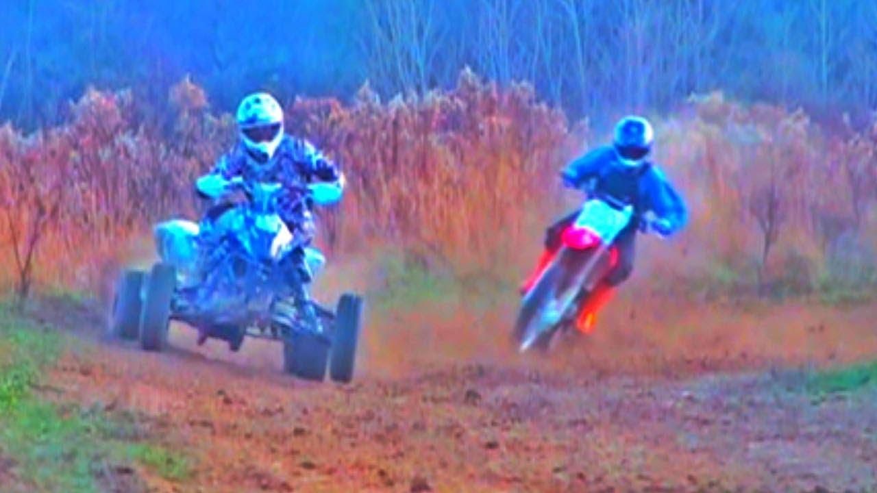9612776bd QUAD vs Dirt Bike! - YouTube