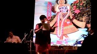 Jai Jai Maharani Jamuna Bhajan By Falguni Pathak at Bhaidas Auditorium