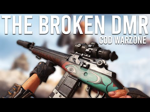 The Broken DMR 14 in COD Warzone!