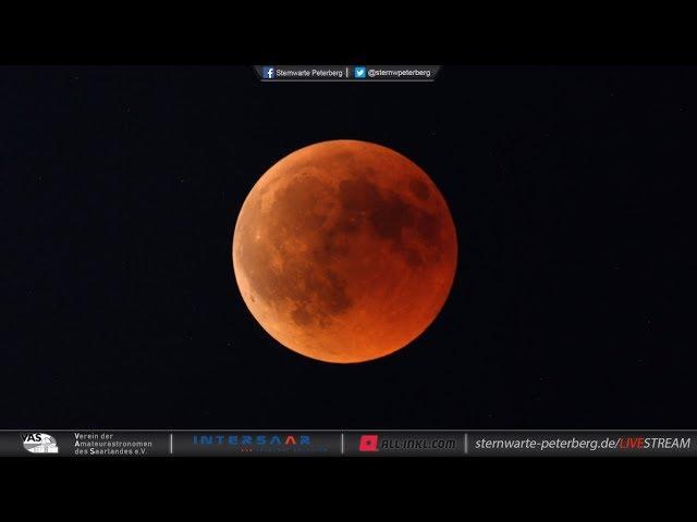 Totale Mondfinsternis Livestream Mehrere Youtube Kanäle übertragen