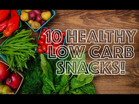 10 PERFECT HEALTHY LOW CARB SNACKS!
