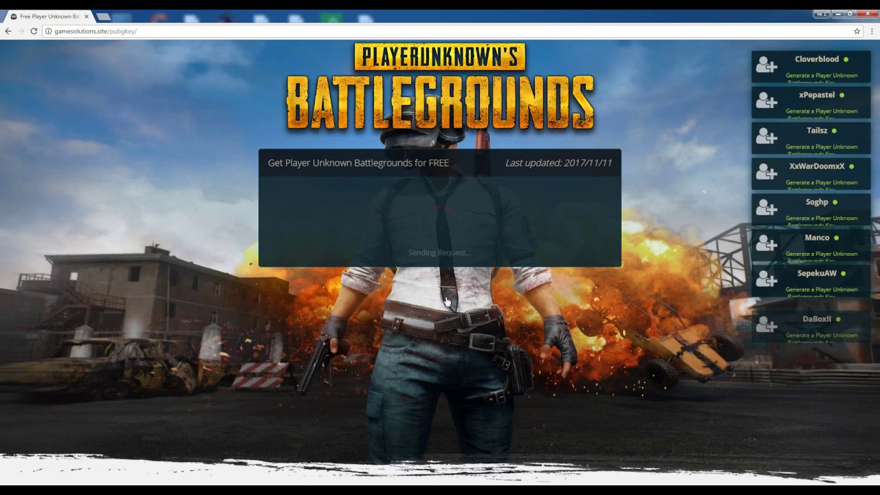 PUBG Steam Key | Free PlayerUnknown's Battlegrounds Key