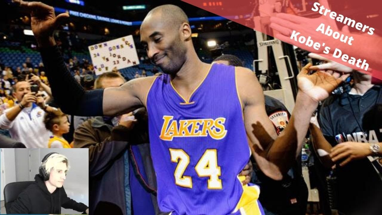 Download Streamers react to Kobe Bryant death