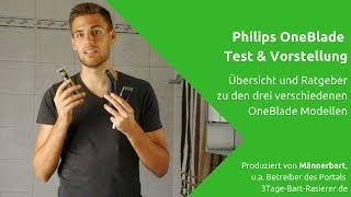 Philips OneBlade Test: Vorstellung und Vergleich der verschiedenen Modell