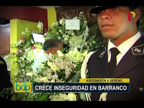 Barranco: Cámaras De Videovigilancia Registraron A Asesinos De Sereno