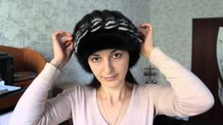 Кепка, Ксения Вайтблэк(Женская кепка Ксения - это норковая шапка из хвостов норки черного и белого цвета. Женская кепка в наличие..., 2015-10-27T08:22:54.000Z)