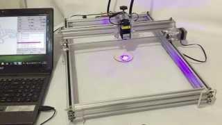 Laseraxe  DIY Desktop Laser Engraver Engraving Machine Laser Etcher Adjustable Laser Power