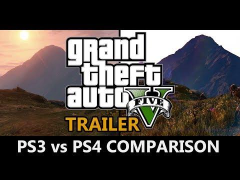 GTA 5 - PS3 vs PS4 Trailer Comparison
