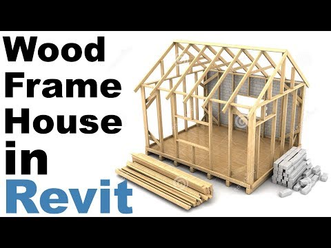 Wood Frame House in Revit Tutorial