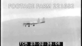 XF-11 Test Flight by Howard Hughes 221682-47 | Footage Farm