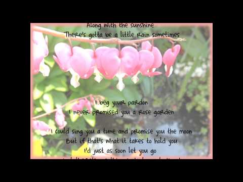 Rose Garden - Lynn Anderson *Lyrics*