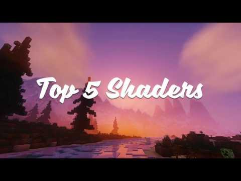 Top 5 Minecraft Shader Pack /V. 1. 12 / 1. 11. 2