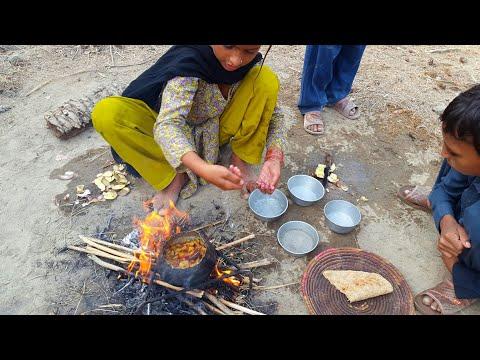 Village Foods   Desi Cooking by Cute Kids In Pakistani Punjab 2018
