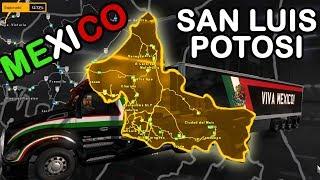 🔴 Liberaremos San Luis Potosi, Mapa de Mexico | Mexssimap | Kenworth T680