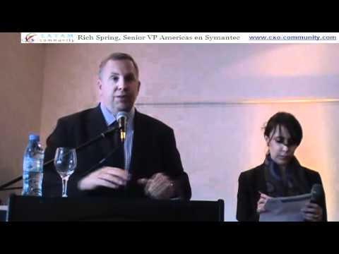 Symantec Vision 2011 - Rich Spring - Conferencia de Prensa Exclusiva
