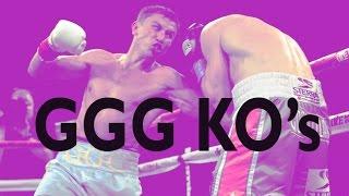Gennady ''ggg'' Golovkin Career Highlight Knockouts