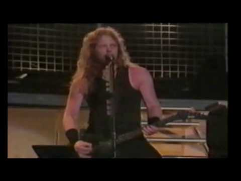 Metallica Master Of Puppets Live 1991 at Moscow Russia