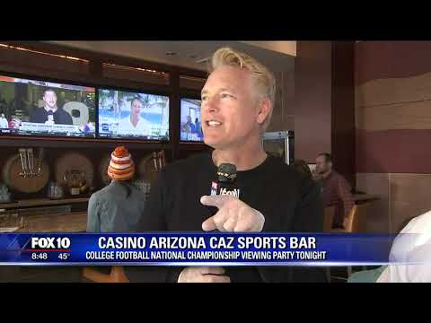 Cory's Corner: Casino Arizona CAZ Sports Bar