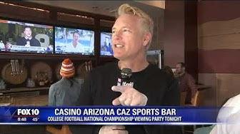 Cory's Corner: Casino Arizona CAZ Sports Bar