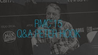 RMC2015 - Q&A Peter Hook