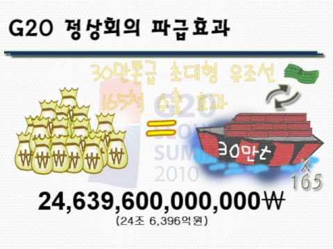 G20 seoul summit 파급효과 ucc