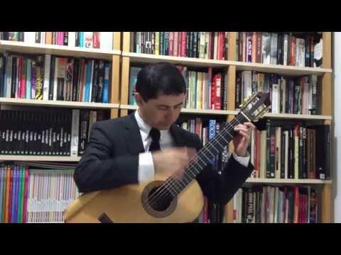 Oscar Lorenzo Fernandez: Velha Modinha (1938) (Gilson Antunes, guitar)