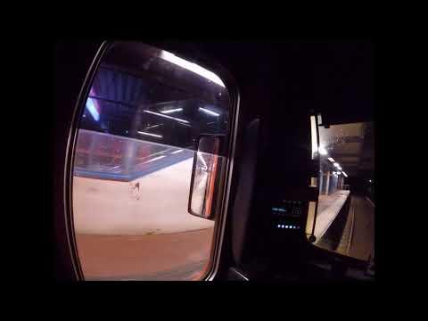Helsinki Metro. Mellunmäki-Tapiola. Kuljettajan-näkymä. Drivers view.