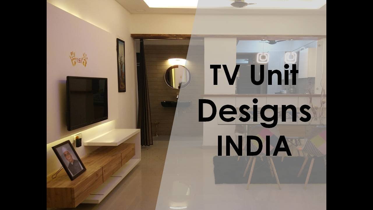 Tv Unit Interior Design India Youtube