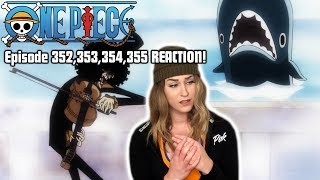 BROOK and LABOON! One Piece Episode 352,353,354,355 REACTION!