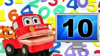 Barney el camion - Los Numeros del 1 al 10 - Canciones Infantiles Educativas - Video para niños #