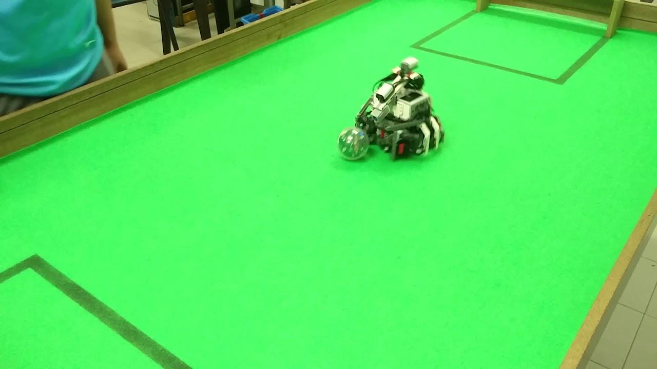 WRO 2018 Robot Football `Sample Omni Robot` by TESSLAB Robotics