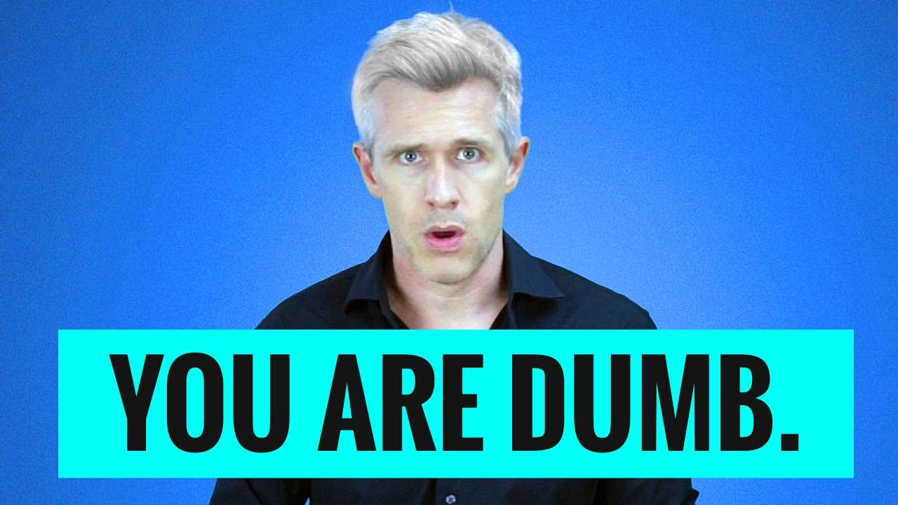 you are dumb a response to twitter trolls nate clark youtube
