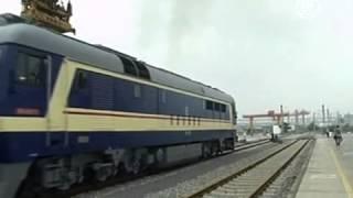 Товары из Китая будут доставлять в Германию поездом (новости)(http://www.ntdtv.ru Товары из Китая будут доставлять в Германию поездом. Китай и Германия пытаются увеличить товаро..., 2013-07-18T12:12:36.000Z)