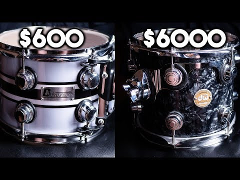 Cheap vs expensive drums: Can you hear the difference? - YouTube