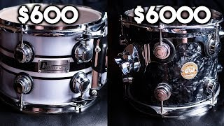 Cheap vs expensive drums:  Can you hear the difference?
