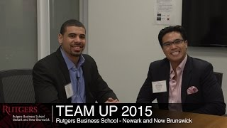 Rutgers Business School's mentoring program connects students to the real world