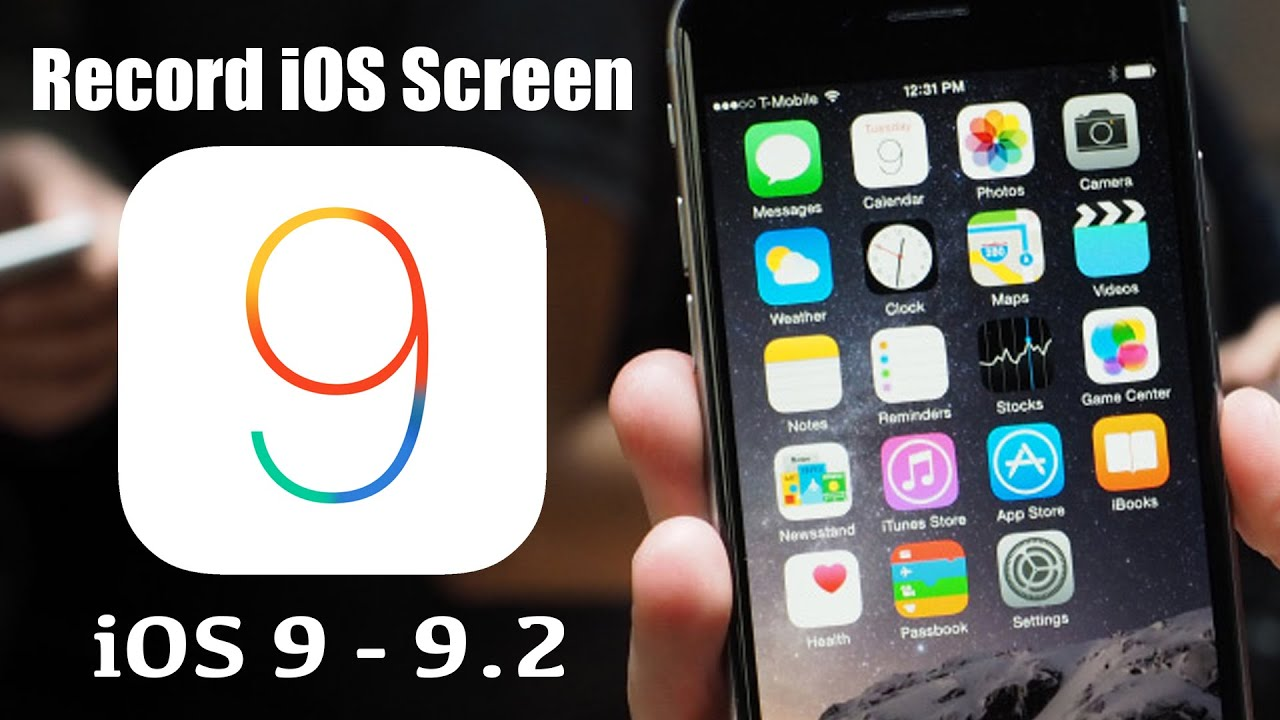 how to record iphone screen free ios 9 2 screen recorder how to record ios 9 9 1 9 2 7570