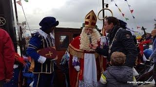 Aankomst Sinterklaas 2017 Harderwijk
