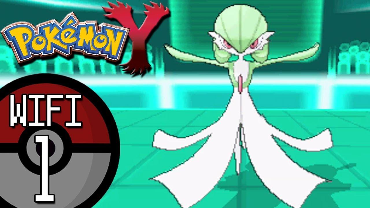 pokemon x and y wifi battle 1 vs sabrina x gardevoir s and