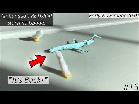 Air Canada's *RETURN* | Gemini Jets Storyline Airport Update - S1 | Ep. 13