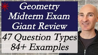 Geometry Midterm Exam Giant Review