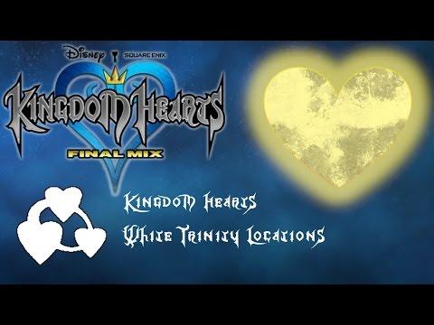 Kingdom Hearts HD 1.5 Remix: All White Trinity Locations - Best Friend Trophy 🏆