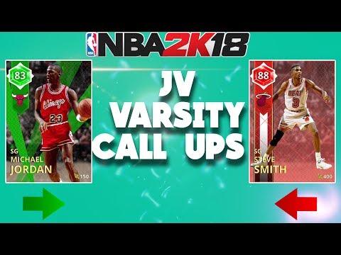 NBA 2K18 MyTeam JV/Varsity Call Ups - Welcoming Michael Jordan!