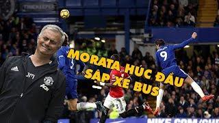 Bản tin Troll Bóng Đá số 102: Morata húc đầu đánh sập xe bus của Mourinho