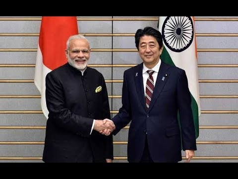 🔴LIVE: PM Modi & Japanese PM Shinzo Abe's Exhibition visit at Mahatama Mandir