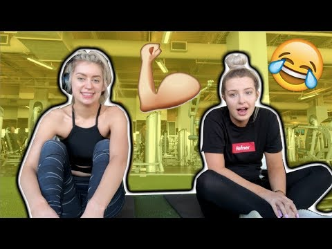 TEACHING TANA MONGEAU HOW TO WORKOUT | WEIGHT LOSS JOURNEY