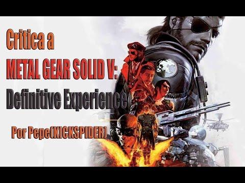 Metal Gear Solid V: Definitive Experience : El Final de la SAGA como la conocemos