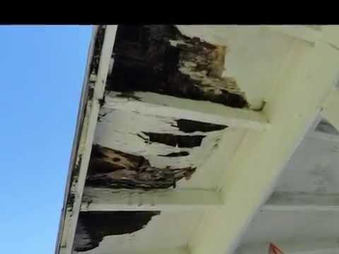 Repair Porch Roof Youtube