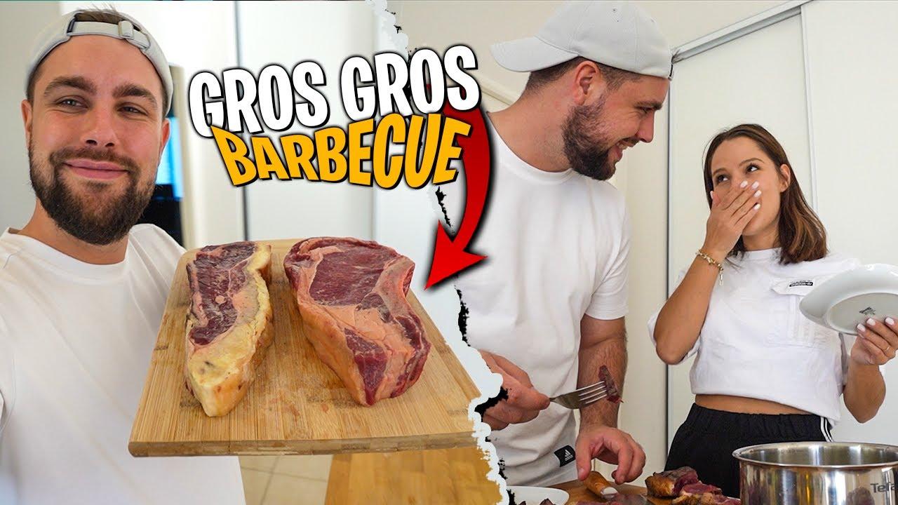 Download Barbecue de folie à base de grosse cote de boeuf et faux filet maturé de la maison Lascours !
