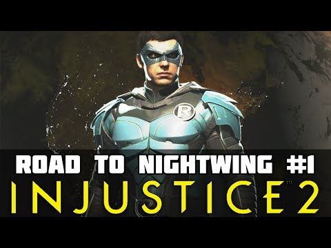 Injustice 2: Road to Nightwing Part 1 Damian's Quest Begins!